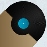 Vinyl and cover Royalty Free Stock Photos