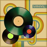 Vinyl cover Royalty Free Stock Photos