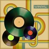 Vinyl cover Royalty Free Stock Photos