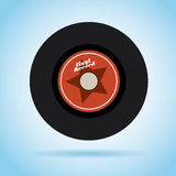 Vinyl design Royalty Free Stock Photos