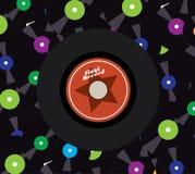Vinyl design Royalty Free Stock Image
