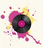 Vinyl disc Royalty Free Stock Photos