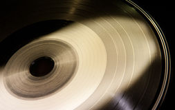 Vinyl disc form Royalty Free Stock Image