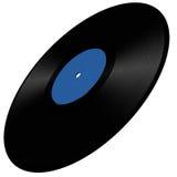 Vinyl disc illustration Royalty Free Stock Image