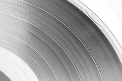 Vinyl disc (inversion) Stock Photo