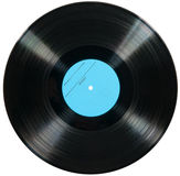 Vinyl disc isolated on white Royalty Free Stock Photography
