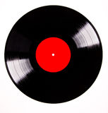 Vinyl disc. Over white background Stock Images