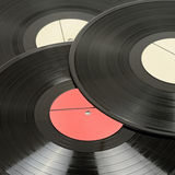Vinyl discs Royalty Free Stock Photos