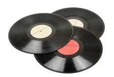 Vinyl discs Royalty Free Stock Images