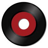 Vinyl disk. Old fashioned vinyl disk Stock Images