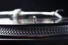 Vinyl disk player Stock Image