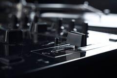 Vinyl disk player Royalty Free Stock Image