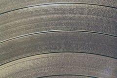 Vinyl disk texture Royalty Free Stock Image