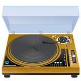 Vinyl draaischijf Stock Fotografie