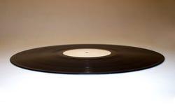 Vinyl ellipse 2. Isolated vinyl record royalty free stock photography