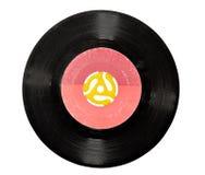vinyl för 45 registrerad r/min. Arkivfoton