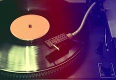 vinyl för bildspelareraster Arkivbilder