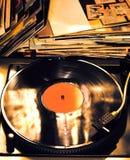 vinyl för bildspelareraster Royaltyfri Foto