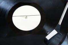 vinyl för register för diskettphonographspelare royaltyfri fotografi