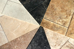 Vinyl Flooring. A sample selection in vinyl flooring showing colours and textures Stock Image