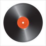 Vinyl geïsoleerda Verslag. Stock Foto's