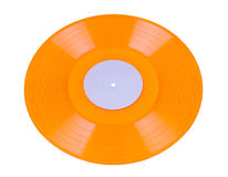 Vinyl geïsoleerda Verslag Royalty-vrije Stock Fotografie