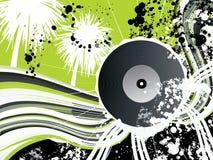 Vinyl grafisch voor vliegerontwerp of voor Webgebruik Stock Afbeelding