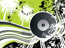 Free Vinyl Graphic For Flyer Design Or For Web Usage Stock Image - 8084021