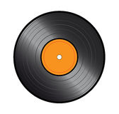 Vinyl icon. Illustration of vinyl icon on the white vector illustration