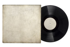 Vinyl Long Play Record Stock Photo