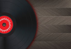 Vinyl Music Background Royalty Free Stock Photography
