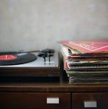 Vinyl Music Melody Leisure Rest Rhythm Concept Stock Photos