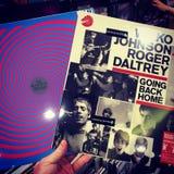 Vinyl Night! Stock Image