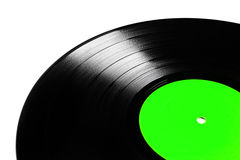 Vinyl plate isolated Stock Photography