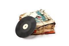 Vinyl platen Royalty-vrije Stock Fotografie