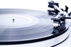 Vinyl platenspeler Stock Afbeelding