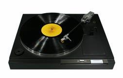 Vinyl platenspeler Royalty-vrije Stock Foto's