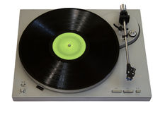 Vinyl player Royalty Free Stock Photography