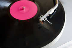 The vinyl player Royalty Free Stock Photography
