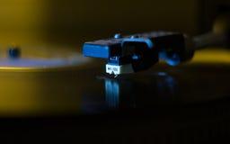 Vinyl player closeup Royalty Free Stock Photos