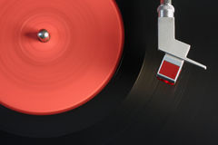 Vinyl player Stock Photo