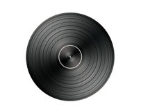 Vinyl Record. Isolated on white background Stock Image