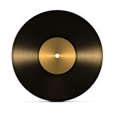 Vinyl record. Isolated on white background Royalty Free Stock Photo