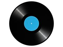 Vinyl record. Photorealistic 3D render of a vinyl record Royalty Free Stock Photos