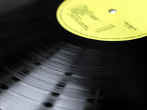 Vinyl record Stock Photography