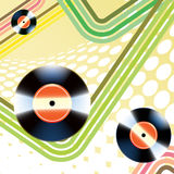 Vinyl record vector illustration
