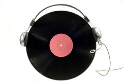 Vinyl record album Royalty Free Stock Images