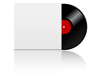 Vinyl record in box Royalty Free Stock Images
