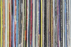 Vinyl Record Collection Royalty Free Stock Image