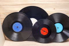Vinyl record. Copy space for text. Stock Photography